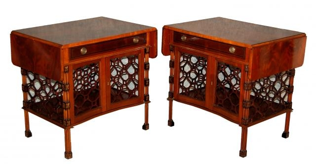 Remarkable Well Known Mahogany Coffee Tables Throughout Mid Century Mahogany Coffee Tables Set Of 2 For Sale At Pamono (Image 42 of 50)