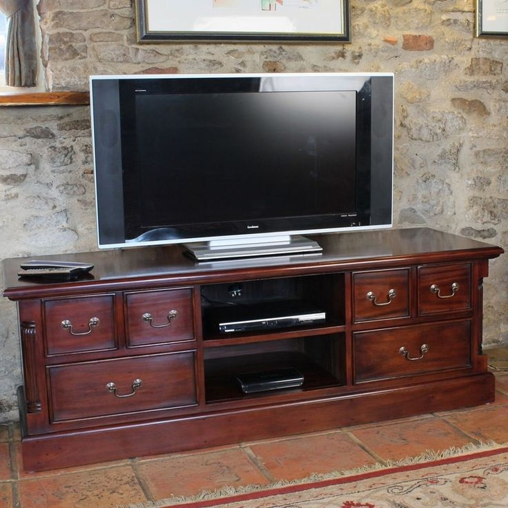 Remarkable Wellknown Mahogany TV Stands Furniture With Best 25 Mahogany Tv Stand Ideas On Pinterest Room Layout Design (Image 37 of 50)