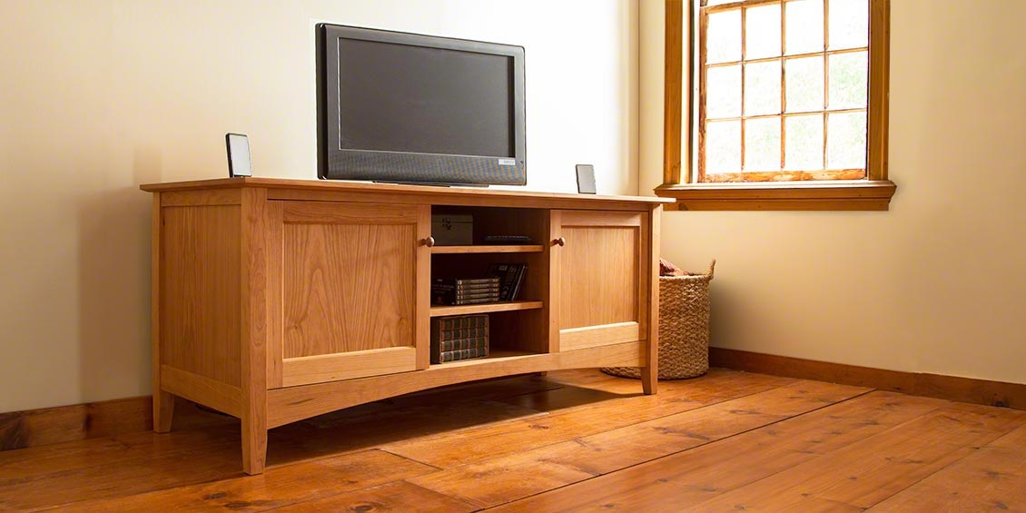 Remarkable Wellknown Maple TV Stands For Flat Screens Throughout Tv Stands Awesome Dark Solid Cherry Wood Tv Stand Ideas Cherry (Image 39 of 50)