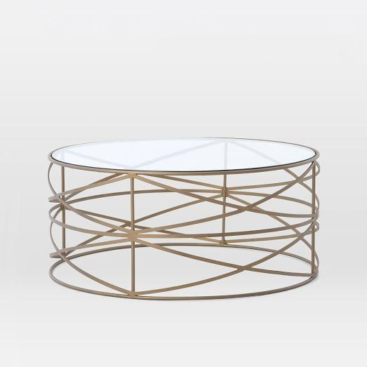 Remarkable Well Known Metal Round Coffee Tables In Round Metal Coffee Table (View 33 of 50)