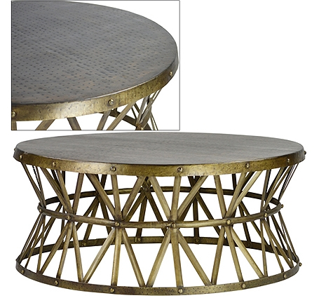 Remarkable Wellknown Round Tray Coffee Tables With Regard To Stunning Round Brass Coffee Table Wonderful Round Brass Tray (Image 42 of 50)