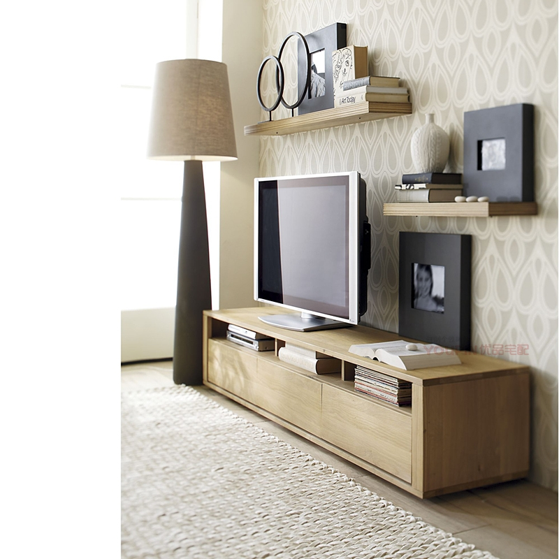 Remarkable Well Known Scandinavian Design TV Cabinets With Regard To Thick Oak Furniture Factory Direct Small Tv Cabinet Scandinavian (View 10 of 50)