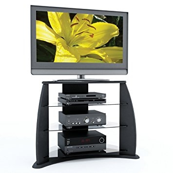 Remarkable Well Known Sonax TV Stands Throughout Amazon Sonax Fp 3000 Florence 34 Inch Midnight Black Tv Stand (View 17 of 50)