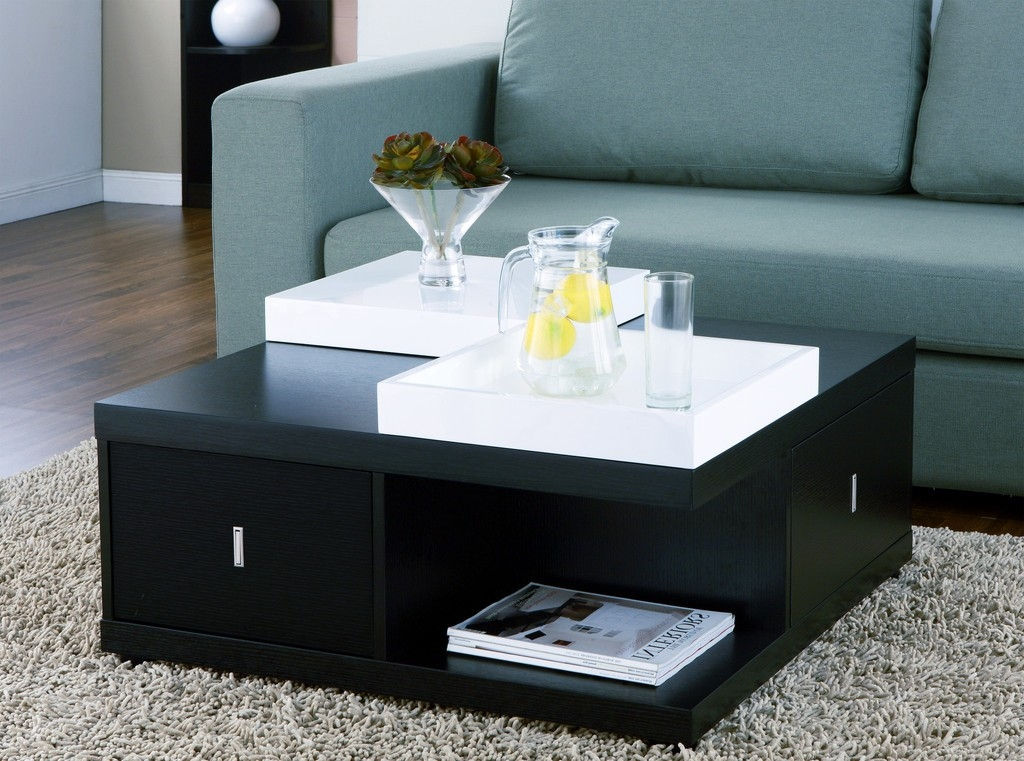 Remarkable Well Known Square Storage Coffee Tables Intended For Square Coffee Table With Storage (View 30 of 50)