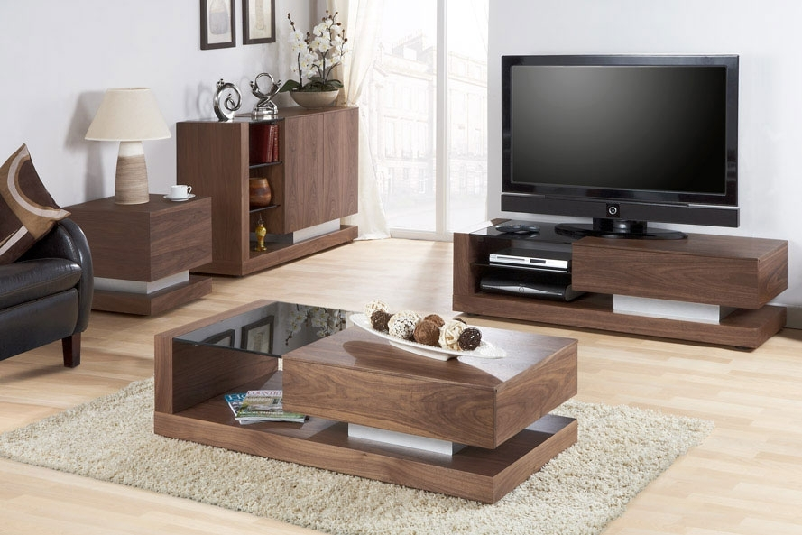 Remarkable Well Known TV Cabinets And Coffee Table Sets Within Walnut Coffee Table And Tv Stand Tablehispurposeinme Tv Stand And (Image 39 of 50)