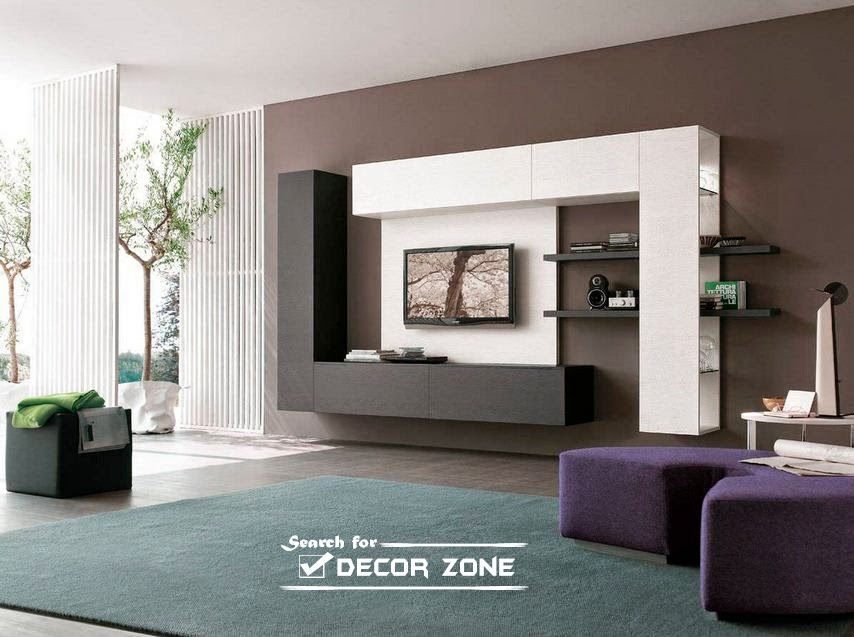 Remarkable Well Known TV Cabinets And Wall Units With Regard To Modern Tv Units 20 Designs And Choosing Tips (Image 45 of 50)