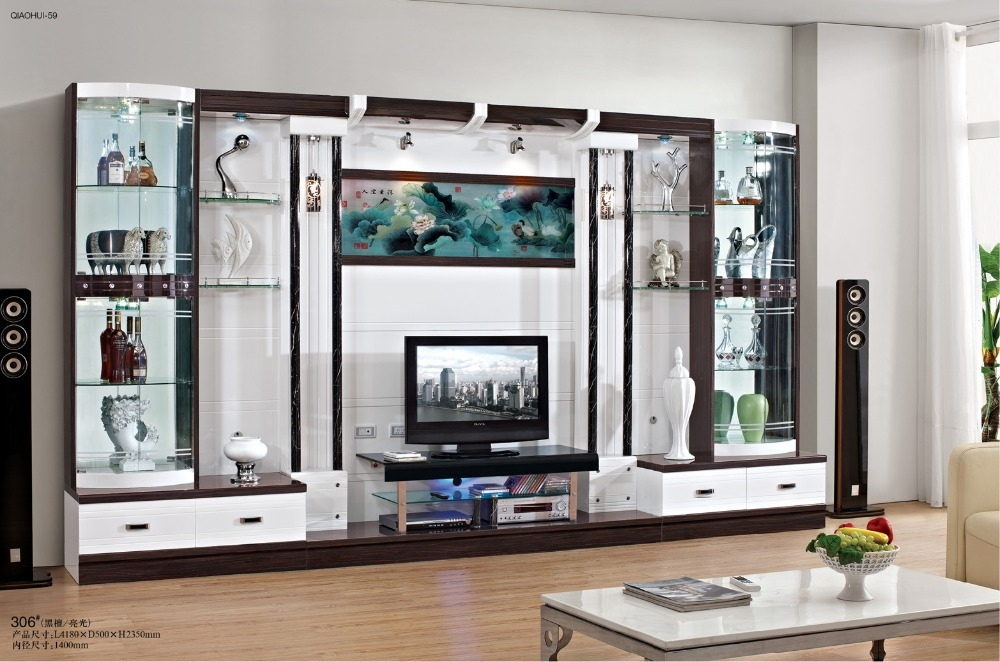Remarkable Well Known Wall Display Units & TV Cabinets Inside Cabinet Decoration Picture More Detailed Picture About Tv (View 4 of 50)