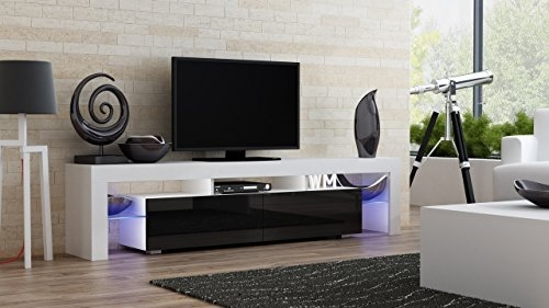 Remarkable Wellliked Led TV Cabinets Regarding Living Room Tv Stand Amazon (Image 40 of 50)