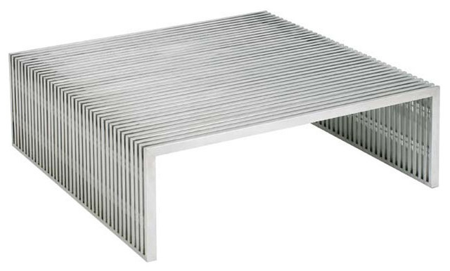 Remarkable Wellliked Metal Square Coffee Tables Inside Square Coffee Tables Houzz (Image 34 of 40)