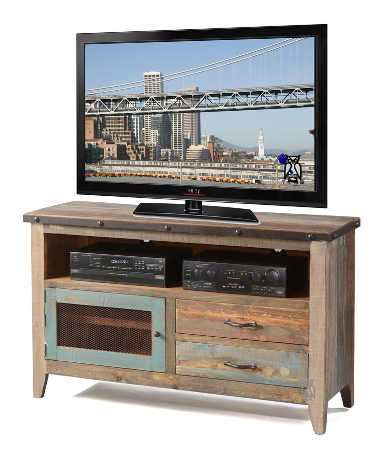 Remarkable Wellliked Rustic Furniture TV Stands With Regard To Hoot Judkins Furnituresan Franciscosan Josebay Areaartisan (Image 40 of 50)