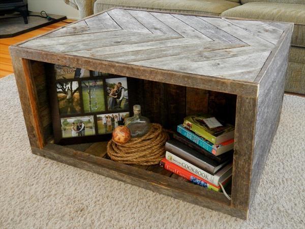 Remarkable Wellliked Rustic Storage DIY Coffee Tables Regarding Diy Storage Coffee Table (Image 41 of 50)