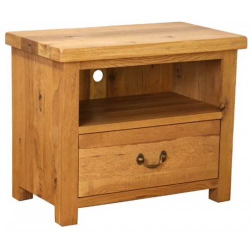 Remarkable Wellliked Small Oak TV Cabinets With Regard To Plantation Oak Small Tv Cabinet (Image 46 of 50)