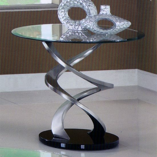 Remarkable Wellliked Spiral Glass Coffee Table In 89 Best Glass Coffee Tables Images On Pinterest Glass Coffee (View 17 of 50)