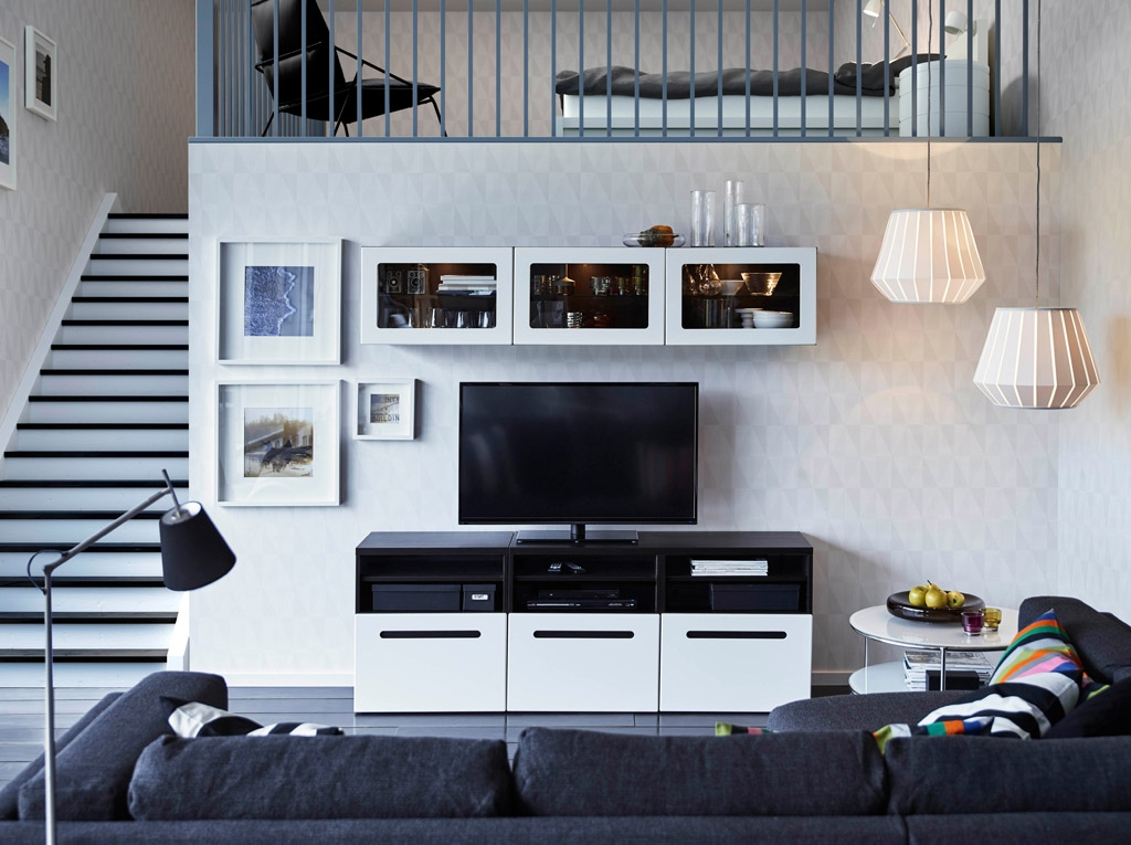 Remarkable Widely Used Black TV Stands With Drawers Within Floating Tv Stand Living Room Furniture Tv Stands Fascinating (Image 42 of 50)