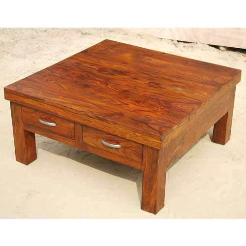 Remarkable Widely Used Square Coffee Tables With Drawers In Square Coffee Table With Storage (View 19 of 40)