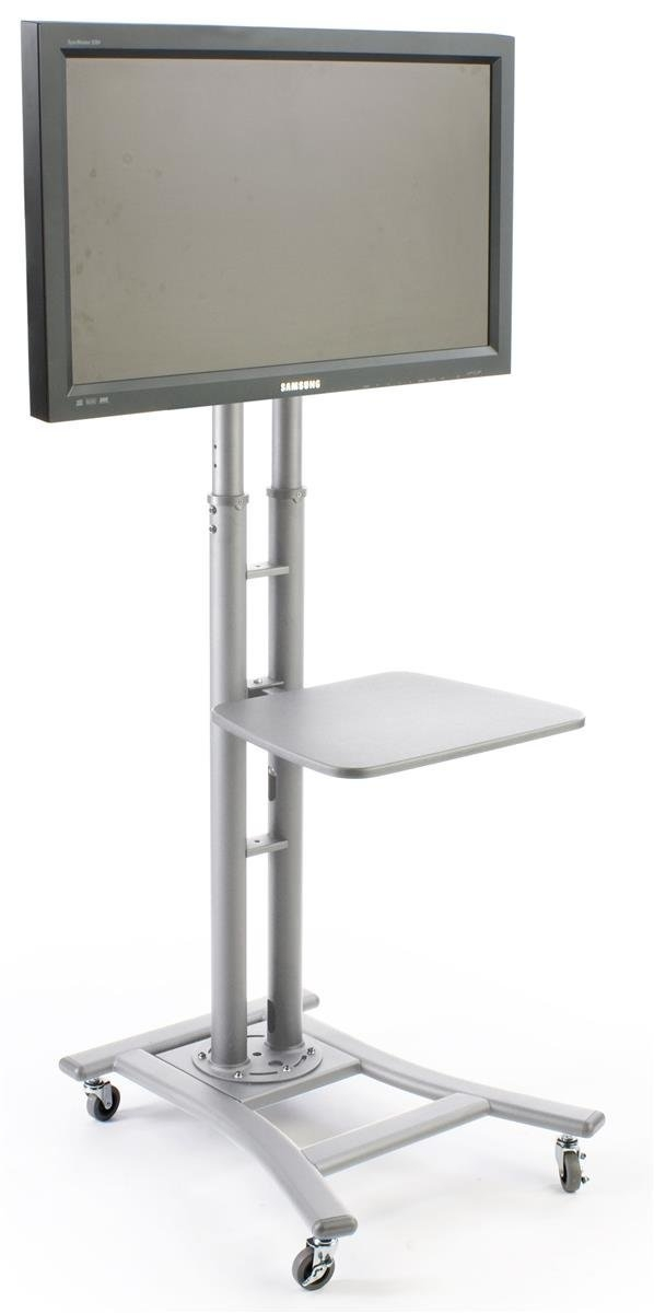 Remarkable Widely Used Stil TV Stands Within Amazon Portable Flat Screen Tv Stand For 32 To 70 Monitors (View 46 of 49)