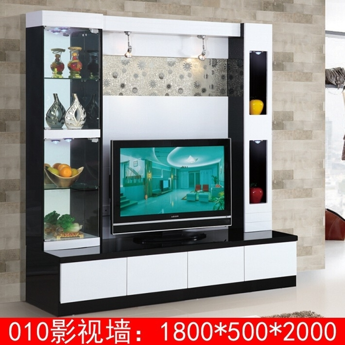 Remarkable Widely Used TV Stand Wall Units In New Arrival Modern Tv Stand Wall Units Designs 010 Lcd Tv Unit (Image 44 of 50)