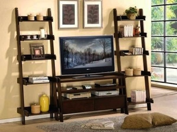 Remarkable Widely Used TV Stands And Bookshelf Pertaining To Best 25 Shelves Around Tv Ideas Only On Pinterest Media Wall (Image 43 of 50)