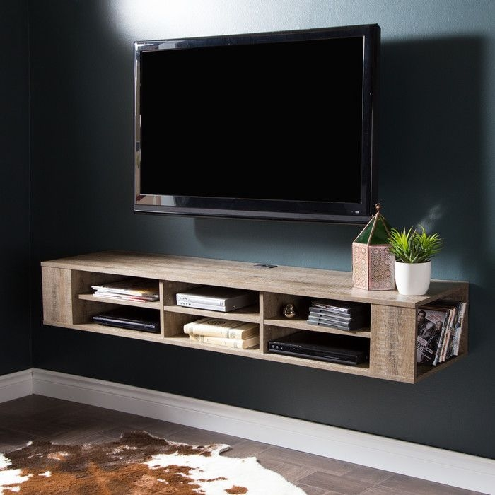 Remarkable Widely Used Wall Mounted TV Stands Entertainment Consoles With Regard To Best 25 Mounted Tv Decor Ideas On Pinterest Hanging Tv Tv (View 10 of 50)