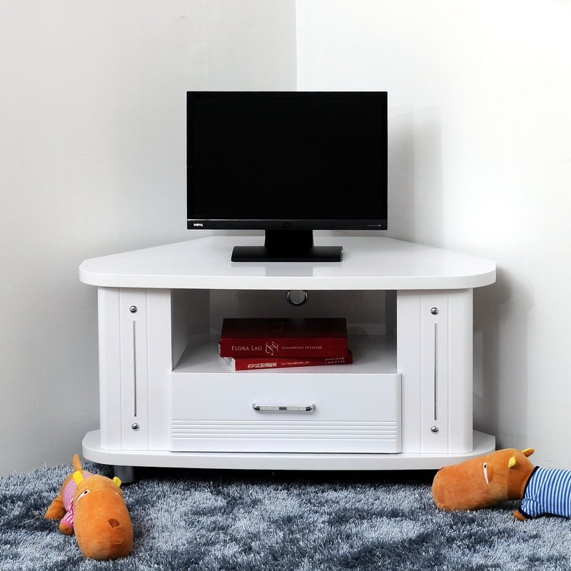 Remarkable Widely Used White Corner TV Cabinets In Tv Stands Top Minimalist Corner Tv Stand Ikea Design Ideas Tv (Image 40 of 50)