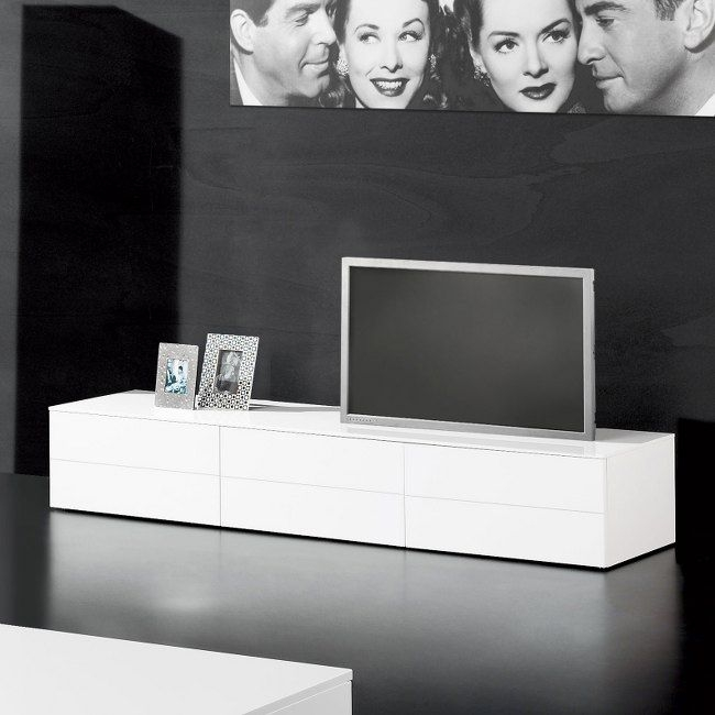 Remarkable Widely Used White High Gloss TV Stands Unit Cabinet Intended For 12 Best Media Center Images On Pinterest High Gloss Modern Tv (Image 39 of 50)