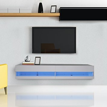 Remarkable Widely Used White Wall Mounted TV Stands Throughout Tv Units White Gloss Interesting Tv Units White Gloss With Tv (Image 43 of 50)