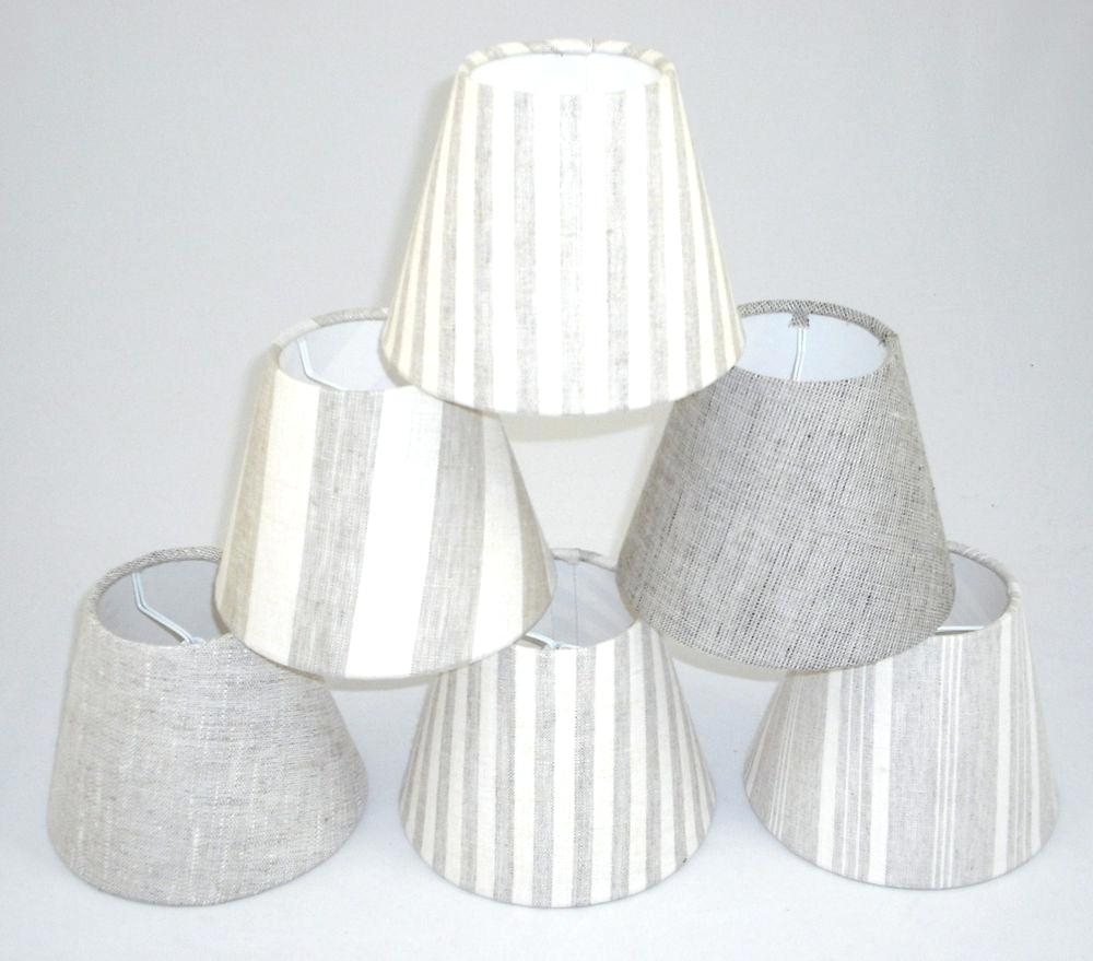 Replacement Shades For Chandelier Upgradelights 6 Inch Drum Style Within Clip On Chandelier Lamp Shades (View 10 of 25)