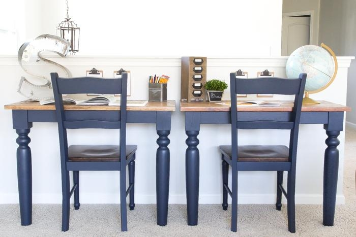 Repurposed Kitchen Table Wall Mounted Desks + Orc Week 3 – Bless In Blue Sofa Tabless (Image 18 of 20)