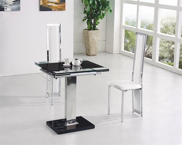 Retractable Glass Dining Table Glass Folding Dining Table China Throughout Glass Extending Dining Tables (Image 16 of 20)