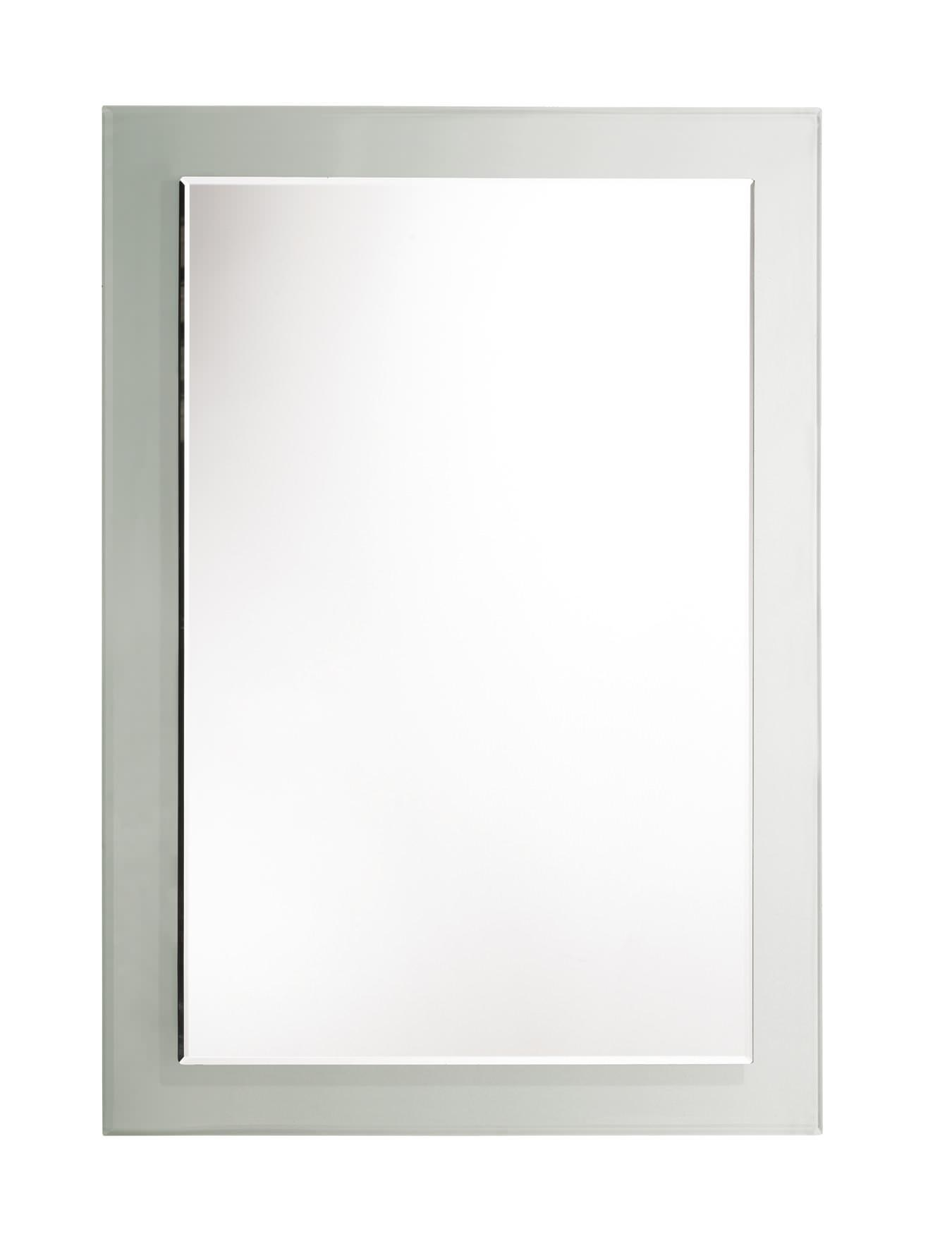 Rhodes Level Bevelled Mirror With Clear Glass Frame For Bevelled Mirror (View 9 of 20)