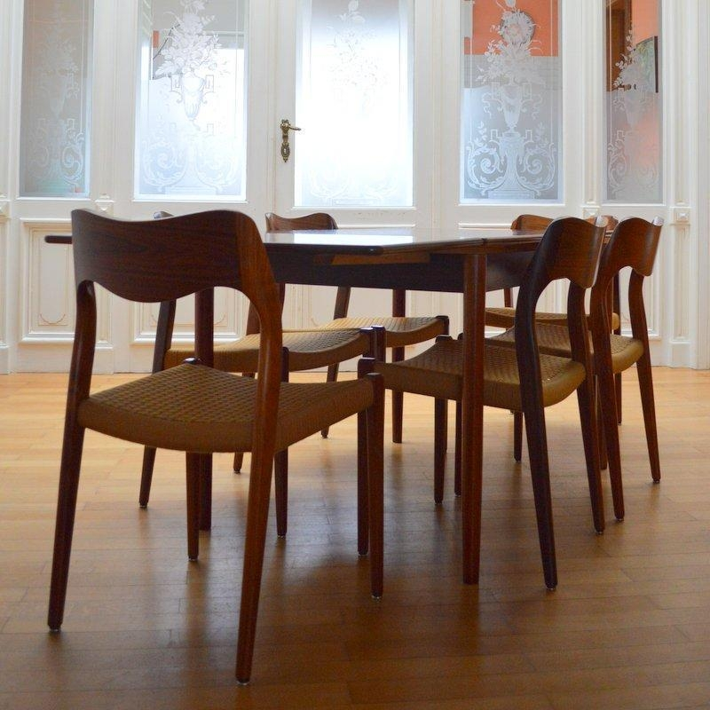 Rio Rosewood Dining Table From Niels O (Image 15 of 20)