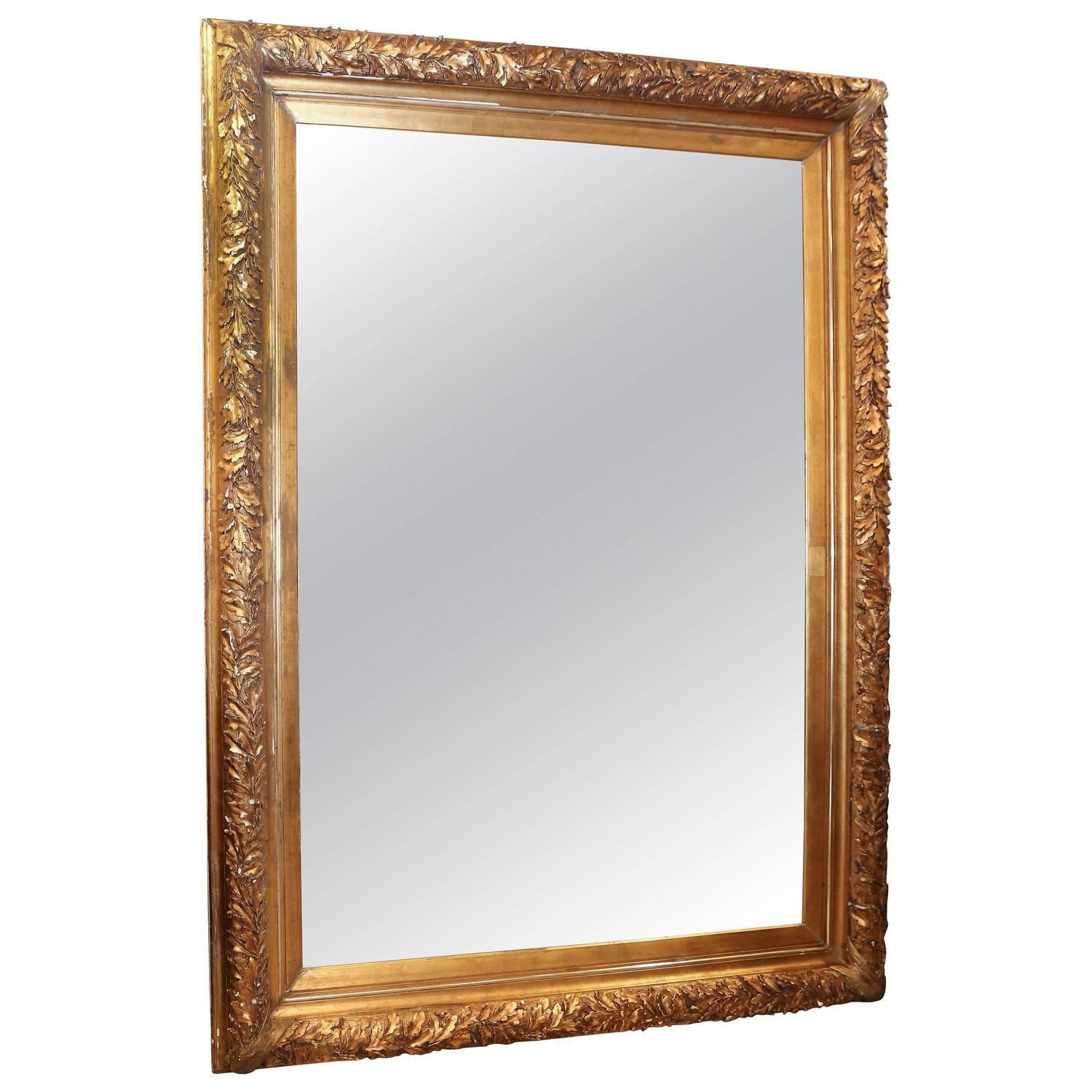 Rococo Floor Mirrors And Full Length Mirrors – 16 For Sale At 1Stdibs Pertaining To French Floor Mirror (Image 18 of 20)