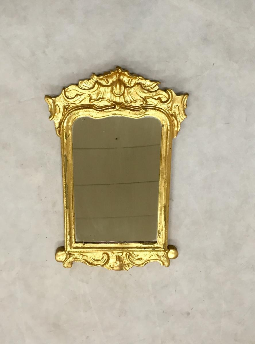 Rococo Mirror, 1960S For Sale At Pamono Pertaining To Gold Rococo Mirror (Image 20 of 20)