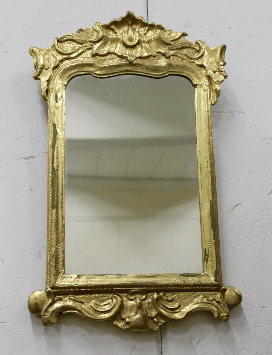 Rococo Mirror, 1960S For Sale At Pamono Regarding Roccoco Mirror (Image 18 of 20)