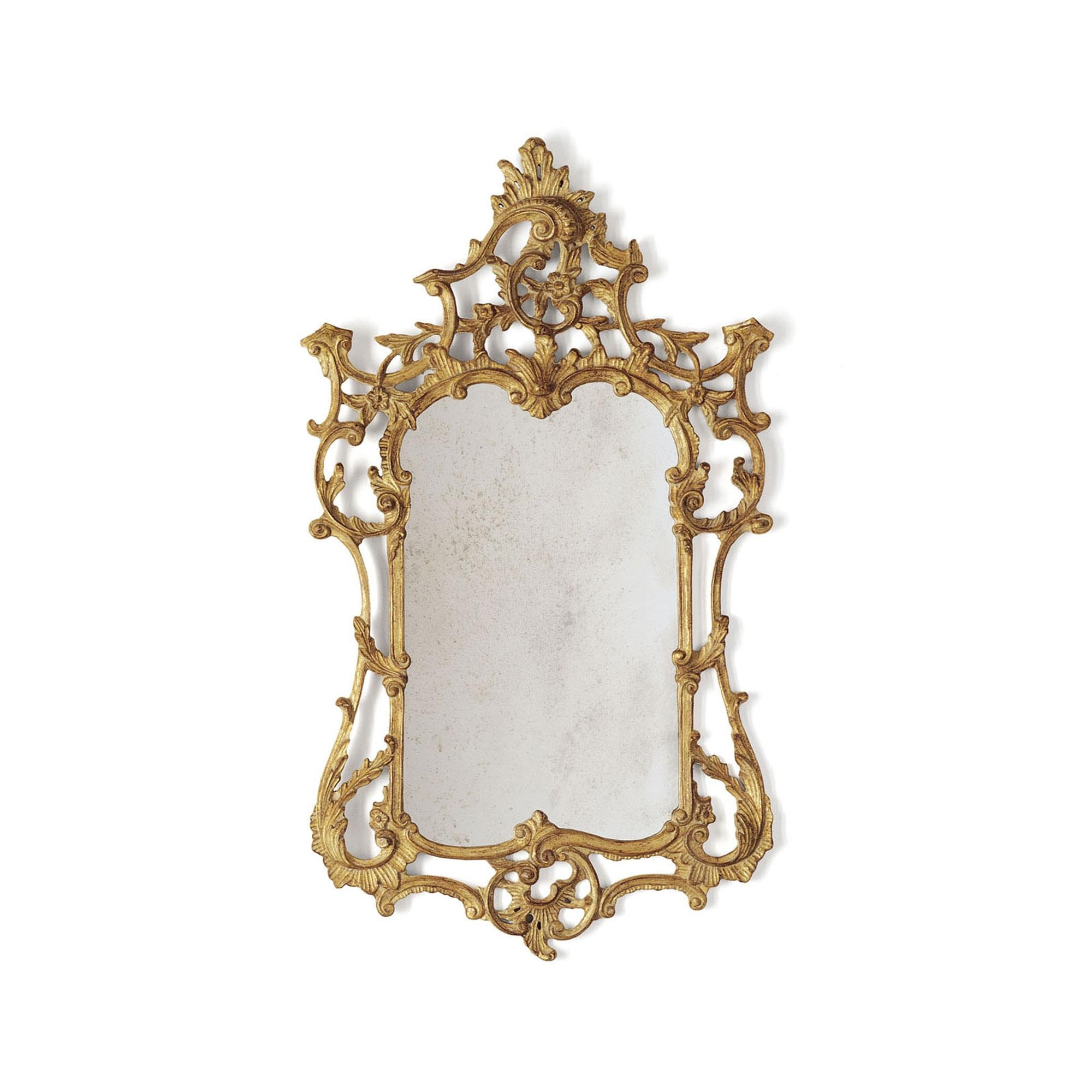 Rococo Mirror | Hand Carved Mirror | Beaumont & Fletcher With Regard To Rococo Mirror Gold (Image 20 of 20)