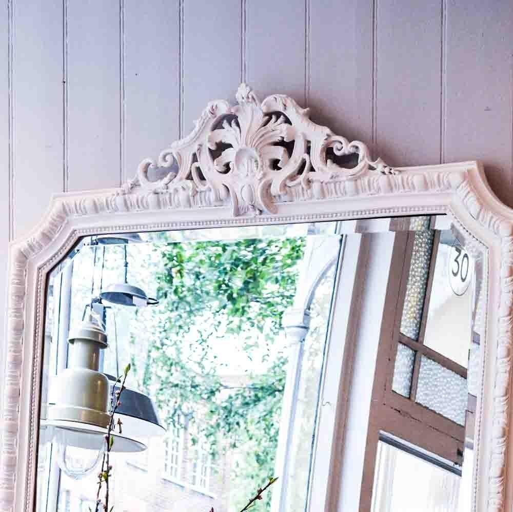 Rococo Mirror With White Rococo Mirror (Image 15 of 20)