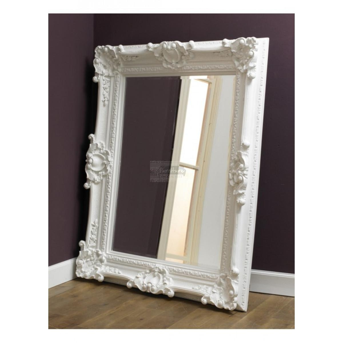 Rococo White Mirror Furniture Mill Outlet Inside White Rococo Mirror (Image 18 of 20)