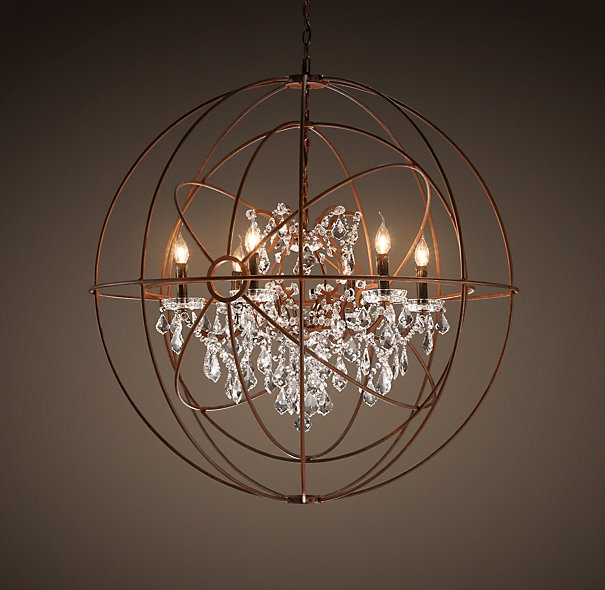 Rodeo Collection Round Twelve Light Chandelier Encanto Rustic For Small Rustic Crystal Chandeliers (Image 19 of 25)