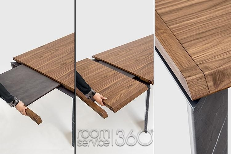 Roma Modern Dining Settonin Casa – Made In Italy Regarding Roma Dining Tables (View 9 of 20)