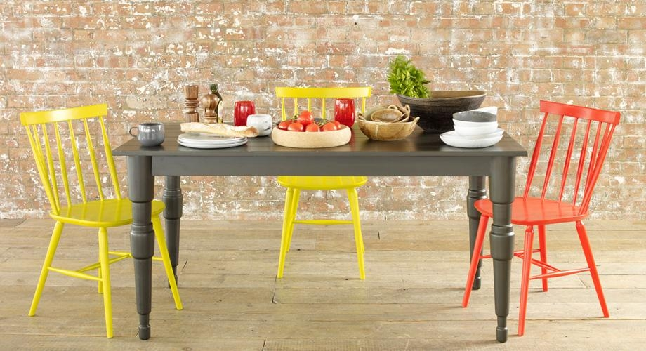 Room Recipe – Colourful Dining • Habitat Blog Pertaining To Colourful Dining Tables And Chairs (Image 17 of 20)