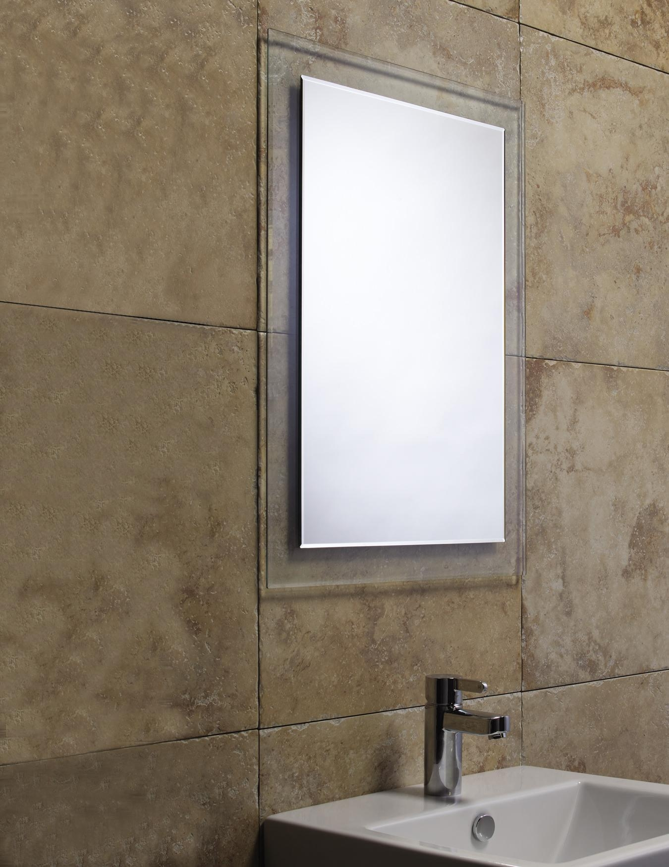 Roper Rhodes Level Bevelled Mirror With Clear Glass Frame With Regard To Bevelled Mirror (View 18 of 20)