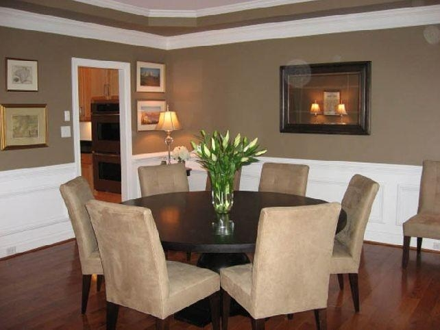 Round 6 Seater Dining Table – Sl Interior Design Throughout 6 Seater Round Dining Tables (Image 12 of 20)