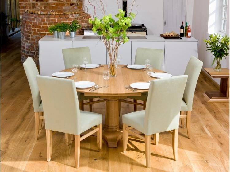 Round 6 Seater Dining Table – Sl Interior Design With 6 Seater Round Dining Tables (Image 13 of 20)