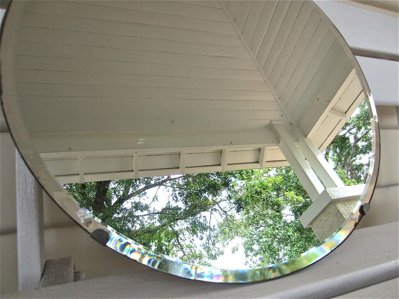 Featured Image of Round Bevelled Mirror