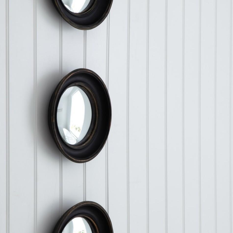 Round Convex Mirrors For Walls | Vanity And Nightstand Decoration With Regard To Small Round Convex Mirror (Image 15 of 20)