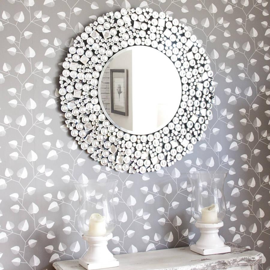 Round Decorative Mirror | Decorating Ideas For Decorative Round Mirrors (Image 16 of 20)