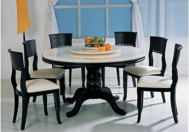 Round Dining Room Sets For 6 – Home Design Ideas And Pictures Regarding Round 6 Person Dining Tables (Image 17 of 20)