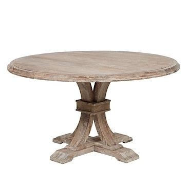 Round Dining Table | Archer Collection | Z Gallerie Pertaining To Circle Dining Tables (Image 17 of 20)