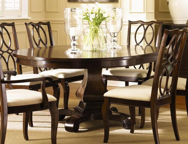 Round Dining Table (Image 18 of 20)