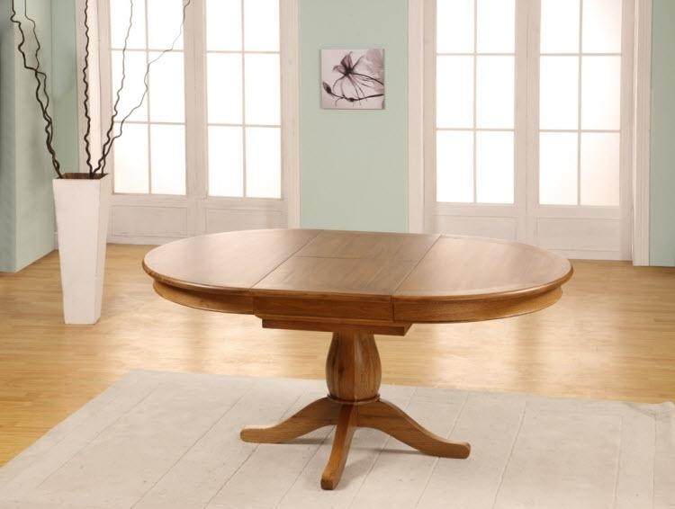 Round Dining Table Extends To Oval Inside Round Dining Tables Extends To Oval (Image 14 of 20)